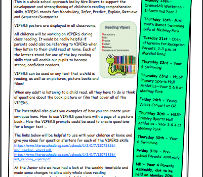 Weekly Newsletter w/e 10th January 2020