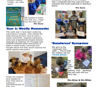 Newsletter w/e 16th October 2020